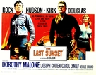 The Last Sunset - Movie Poster (xs thumbnail)