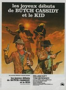 Butch and Sundance: The Early Days - French Movie Poster (xs thumbnail)