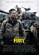 Fury - Danish Movie Poster (xs thumbnail)