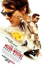 Mission: Impossible - Rogue Nation - British Movie Poster (xs thumbnail)