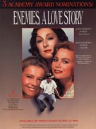 Enemies: A Love Story - Movie Poster (xs thumbnail)