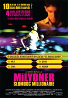 Slumdog Millionaire - Turkish Movie Poster (xs thumbnail)