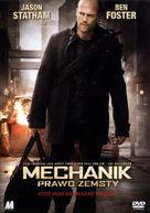 The Mechanic - Polish DVD cover (xs thumbnail)