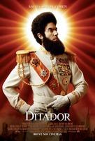 The Dictator - Brazilian Movie Poster (xs thumbnail)
