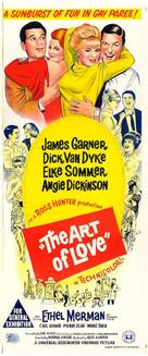 The Art of Love - Australian Movie Poster (xs thumbnail)