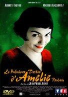 Le fabuleux destin d'Amélie Poulain - French DVD movie cover (xs thumbnail)