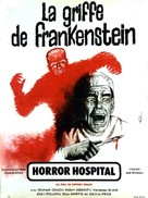 Horror Hospital - French Movie Poster (xs thumbnail)