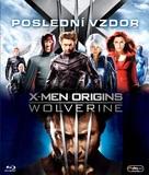 X-Men Origins: Wolverine - Czech Blu-Ray cover (xs thumbnail)