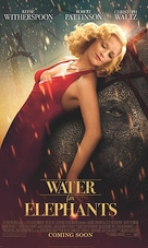 Water for Elephants - Theatrical poster (xs thumbnail)