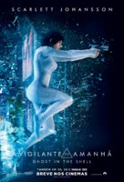 Ghost in the Shell - Brazilian Movie Poster (xs thumbnail)