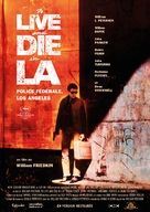 To Live and Die in L.A. - French Movie Poster (xs thumbnail)