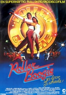 Roller Boogie - Swedish Movie Poster (xs thumbnail)