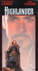 Highlander - VHS movie cover (xs thumbnail)