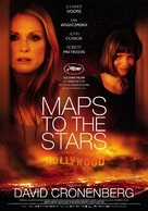 Maps to the Stars - German Movie Poster (xs thumbnail)