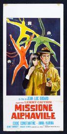 Alphaville, une étrange aventure de Lemmy Caution - Italian Movie Poster (xs thumbnail)