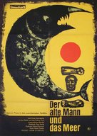 The Old Man and the Sea - German Movie Poster (xs thumbnail)