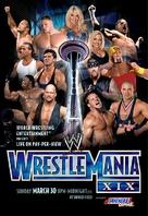 WWE WrestleMania XIX - Movie Poster (xs thumbnail)