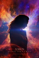 X-Men: Dark Phoenix - French Movie Poster (xs thumbnail)