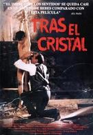 Tras el cristal - Spanish VHS cover (xs thumbnail)