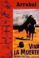 Viva la muerte - German DVD cover (xs thumbnail)