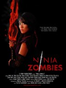 Ninja Zombes - Movie Poster (xs thumbnail)