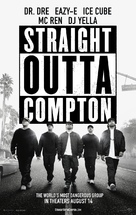 Straight Outta Compton - Movie Poster (xs thumbnail)