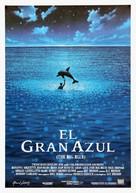 Le grand bleu - Spanish Movie Poster (xs thumbnail)
