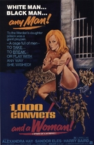 1000 Convicts and a Woman - Theatrical movie poster (xs thumbnail)