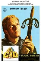 El Cid - Spanish Movie Poster (xs thumbnail)