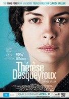 Thérèse Desqueyroux - Australian Movie Poster (xs thumbnail)
