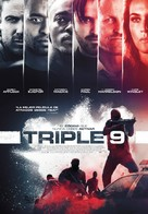 Triple 9 - Spanish Movie Poster (xs thumbnail)