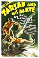 Tarzan and His Mate - Theatrical movie poster (xs thumbnail)