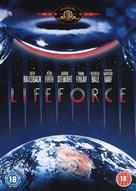Lifeforce - British DVD movie cover (xs thumbnail)