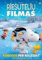 The Peanuts Movie - Lithuanian Movie Poster (xs thumbnail)
