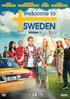 """Welcome to Sweden"" - Swedish DVD movie cover (xs thumbnail)"