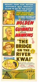 The Bridge on the River Kwai - Australian Movie Poster (xs thumbnail)