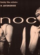 La notte - Czech Movie Poster (xs thumbnail)