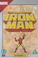"""Iron Man"" - British DVD movie cover (xs thumbnail)"