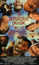 Freaked - Spanish VHS movie cover (xs thumbnail)