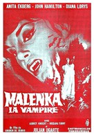 Malenka - French Movie Poster (xs thumbnail)