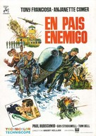 In Enemy Country - Spanish Movie Poster (xs thumbnail)