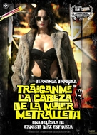 Tráiganme la cabeza de la mujer metralleta - Chilean Movie Poster (xs thumbnail)
