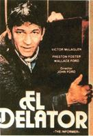 The Informer - Spanish Movie Poster (xs thumbnail)