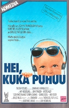 Look Who's Talking - Finnish VHS movie cover (xs thumbnail)