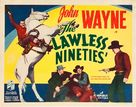 The Lawless Nineties - Movie Poster (xs thumbnail)