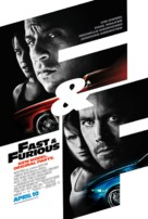Fast & Furious - British Movie Poster (xs thumbnail)