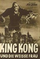 King Kong - German poster (xs thumbnail)