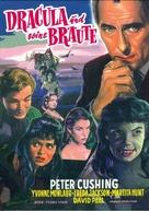 The Brides of Dracula - German Blu-Ray cover (xs thumbnail)