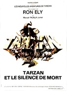 Tarzan's Deadly Silence - French Movie Poster (xs thumbnail)