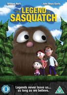 The Legend of Sasquatch - British DVD cover (xs thumbnail)